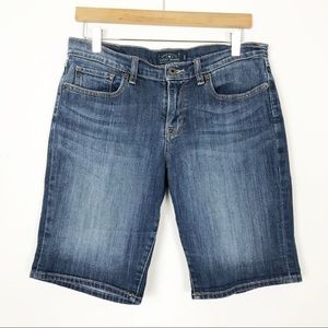 LUCKY BRAND The Bermuda Shorts Size 8 29